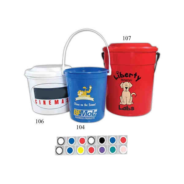64 Oz - Sand Pail With Handle Photo