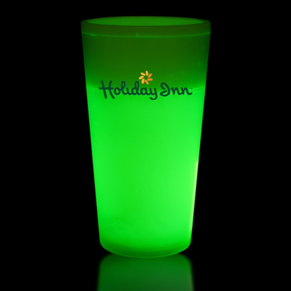 Green 12 oz. Light Up Glow Cup