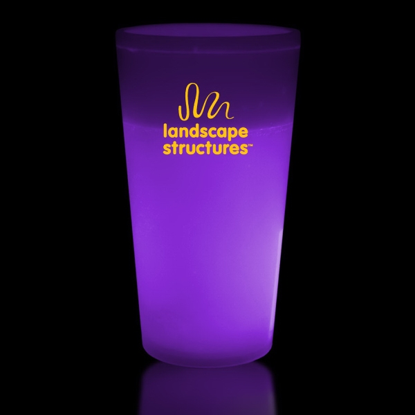 Purple 12 oz. Light Up Glow Cup