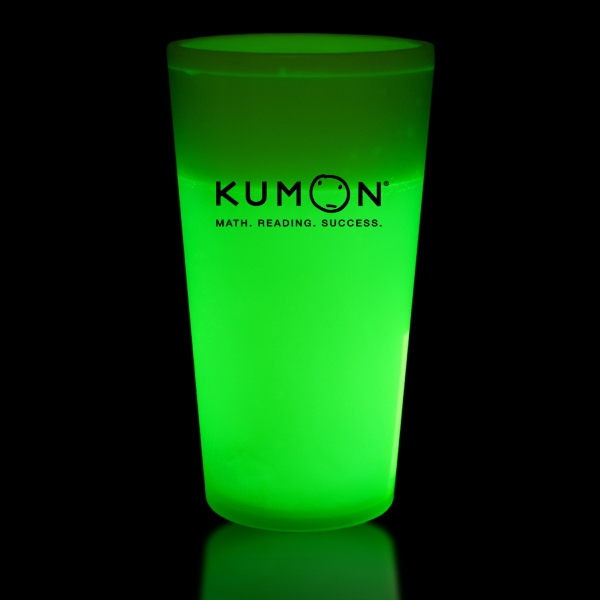 Green 16 oz. Light Up Glow Cup