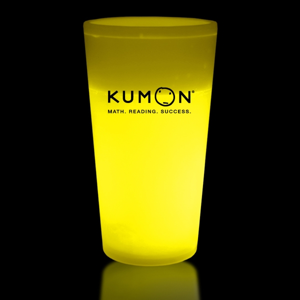 Yellow 16 oz. Light Up Glow Cup