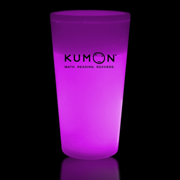 Pink 16 oz. Light Up Glow Cup