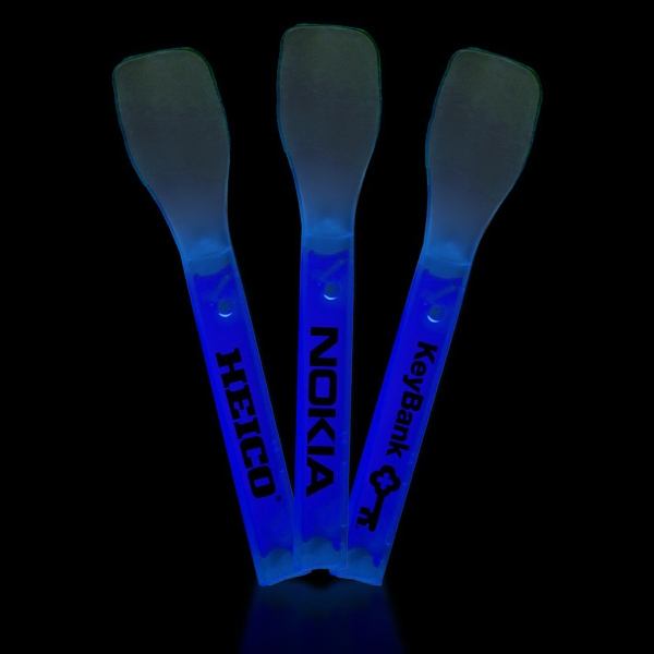 Blue Glow Light Up Ice Cream Spoon