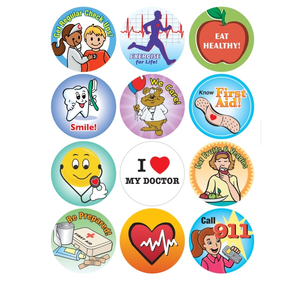 Medical Care - Removable Sticker Fun Photo