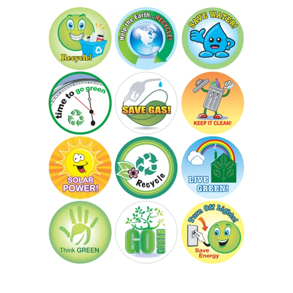 Recycling & Environment - Removable Sticker Fun Photo