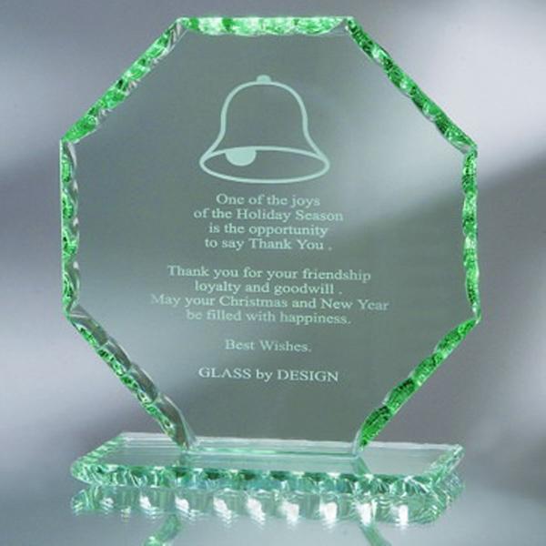 "Award-Octagon, Pearl Edge 5 3/8"""