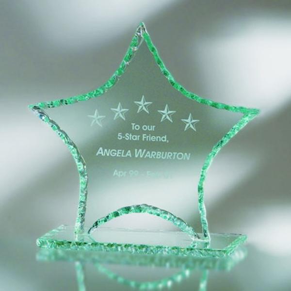 "Award-Star, Pearl Edge 8 3/8"""