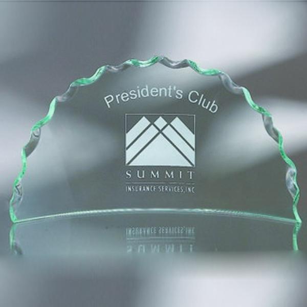 "Award-Media Luna, Rope Edge 5"""