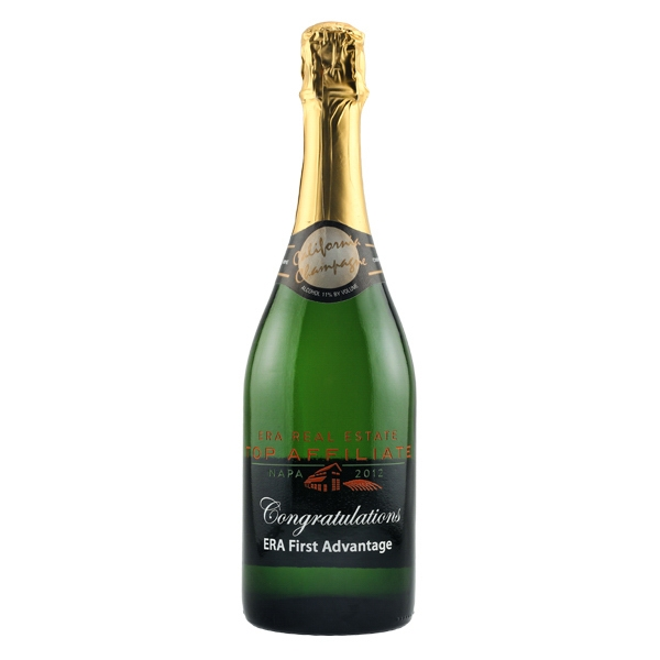 Etched Champagne Sparkling Wine