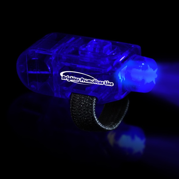 Blue Led Finger Light With Velcro (r) Style Closure Photo