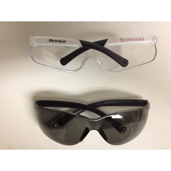 Bearkat - Safety Glasses With Flexible Bayonet Temples And Black Rubber Sleeves Photo