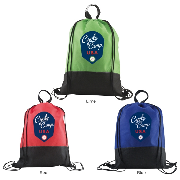 Catalog 5-7 Day Production - Easy Hang Drawstring Backpack Photo