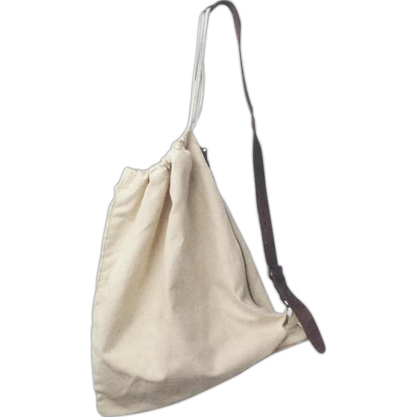 Commando - Canvas Bag With Adjustable Strap And Cinch Rope For Main Compartment Closure Photo