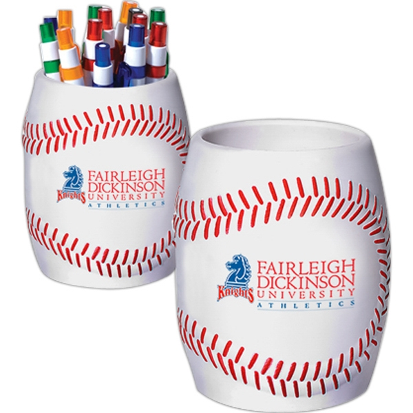 Baseball - Strong Flexible Polyurethane Can Holder, Holds A 12 Oz. Can Photo