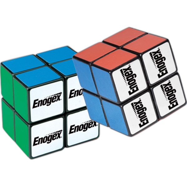 "Rubik's (r) - 1 1/2"" - Puzzle Cube, Simpler Four Panels Per Side Photo"