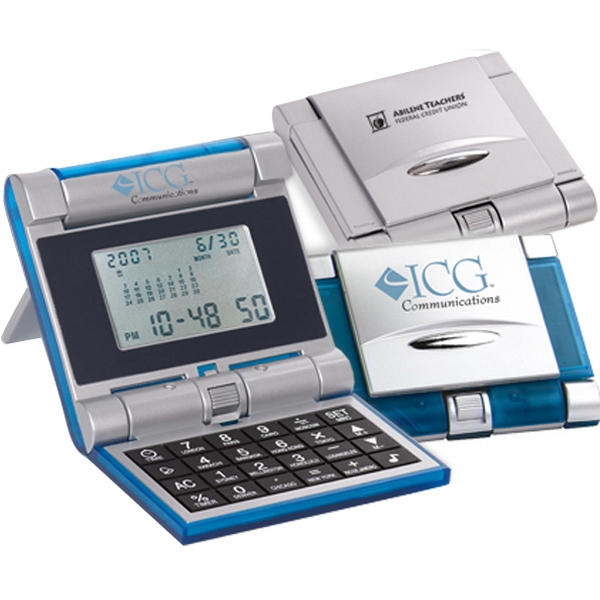 Robot Series (r) Evolution - Combination Digital Lcd Alarm, World-time Clock And Calendar/calculator Photo