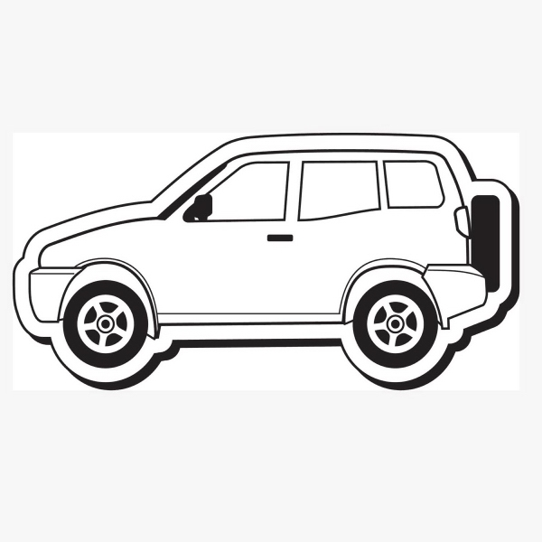Car Stock Shape Magnet
