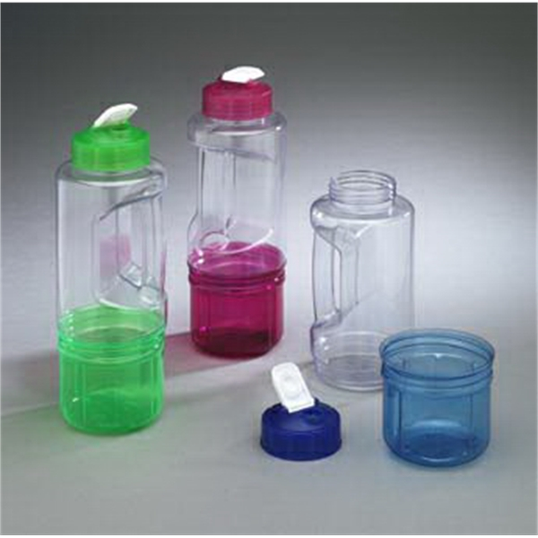 Sip-n-store - 22 Oz Water Bottle With A A Bottom That Unscrews To Store Snacks Or Valuables Photo