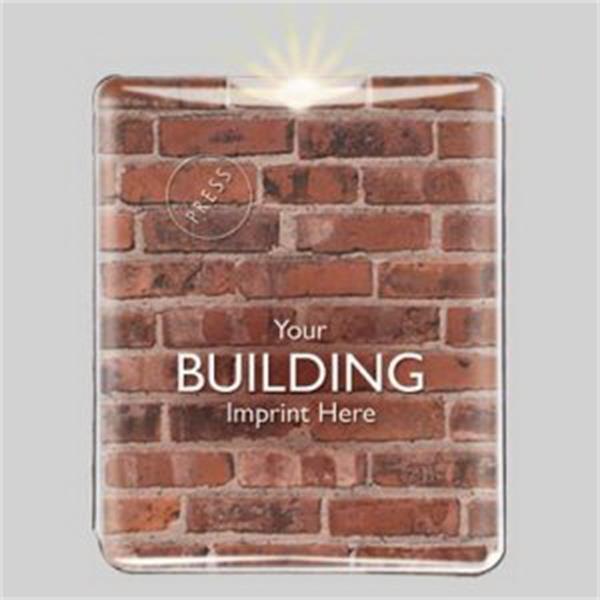 Light Up Card Light - Bricks - 4 White LEDs - Light Up Card Light - Bricks - 4 White LEDs.
