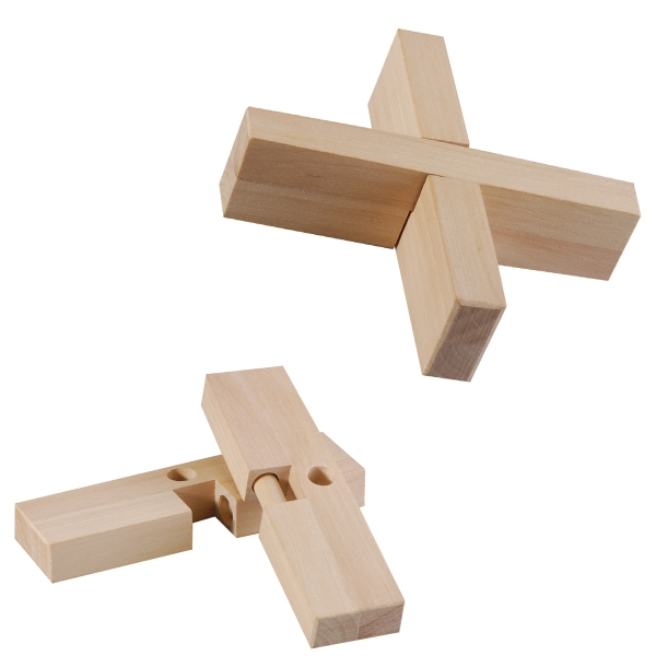 Cross Design Puzzle. Eco-friendly Photo