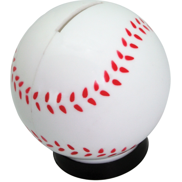 Baseball Coin Bank Photo