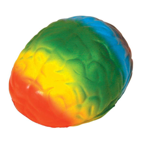 Squeezies (R) Rainbow Brain Stress Reliever