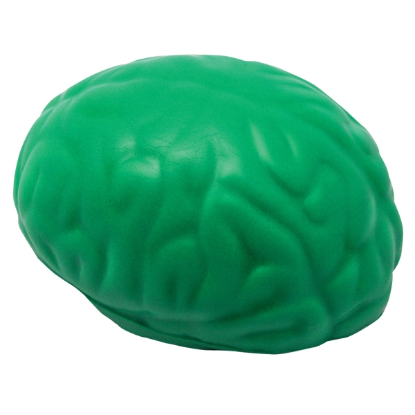Squeezies (r) - Green - Brain Shape Stress Reliever Photo