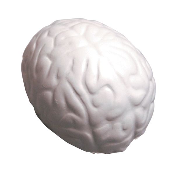 Squeezies (r) - Gray - Brain Shape Stress Reliever Photo