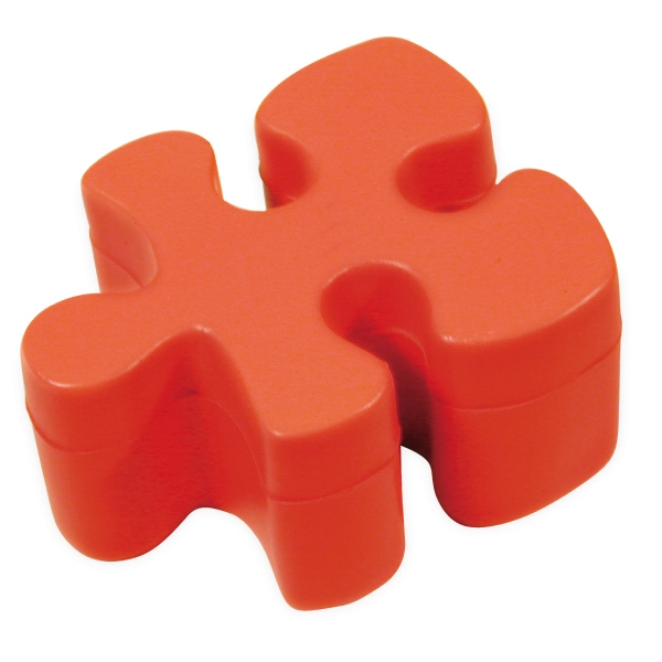 Squeezies (r) - Red - Puzzle Shape Stress Reliever Photo