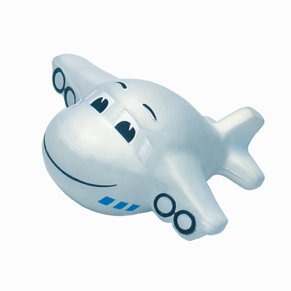 Squeezies (R) Mini Plane (w/Smile) Stress Reliever