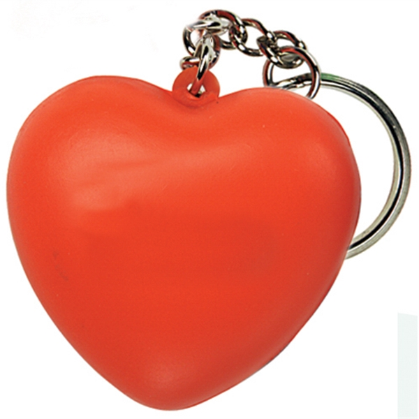 Squeezies (r) - Heart Shape Stress Reliever Key Holder Photo