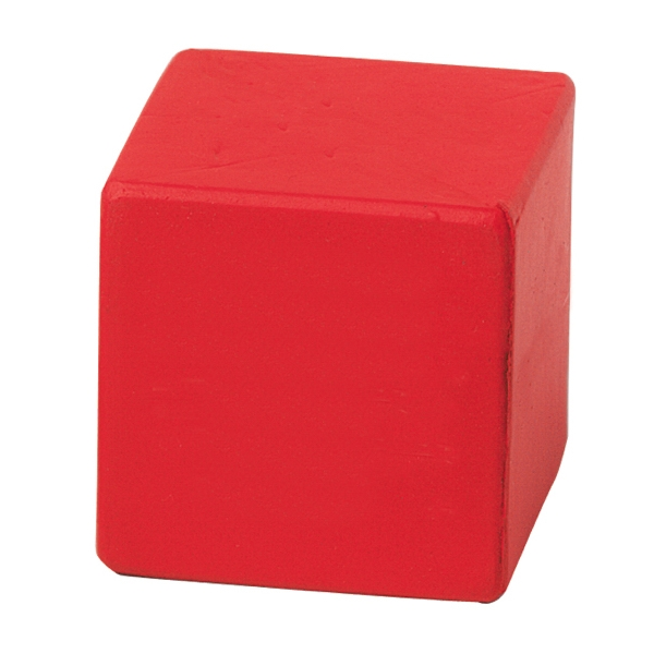 Squeezies (r) - Red - Cube Shape Stress Reliever Photo