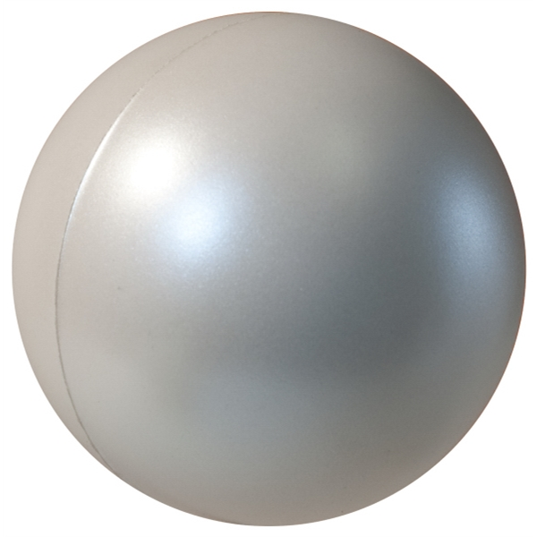 Squeezies (r) - Pearl White - Stress Reliever With Pearl Luster Finish Photo