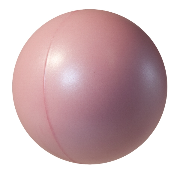 Squeezies (r) - Pearl Pink - Stress Reliever With Pearl Luster Finish Photo