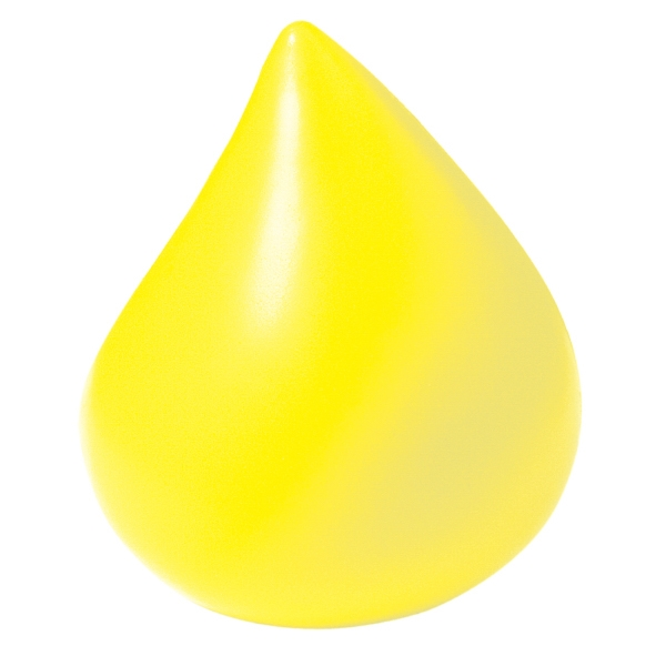 Squeezies (r) - Yellow - Drop Shaped Stress Reliever Photo