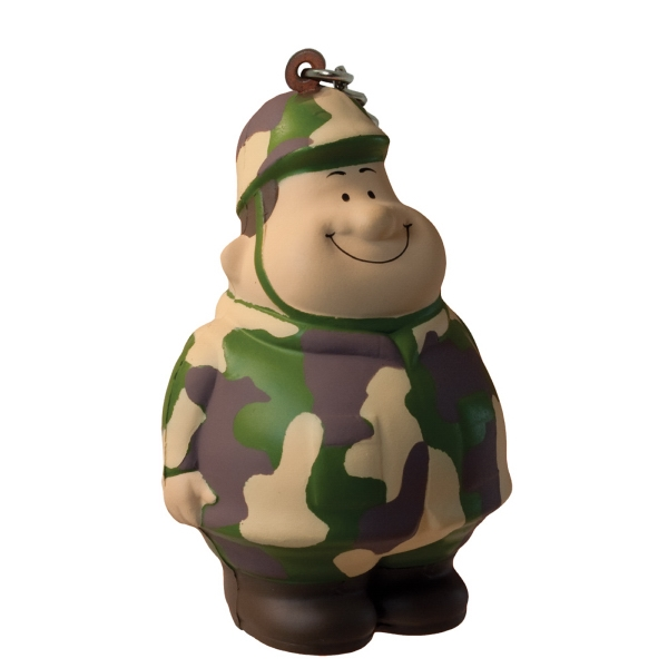 Army Bert (TM) Squeezies (R) Keychain