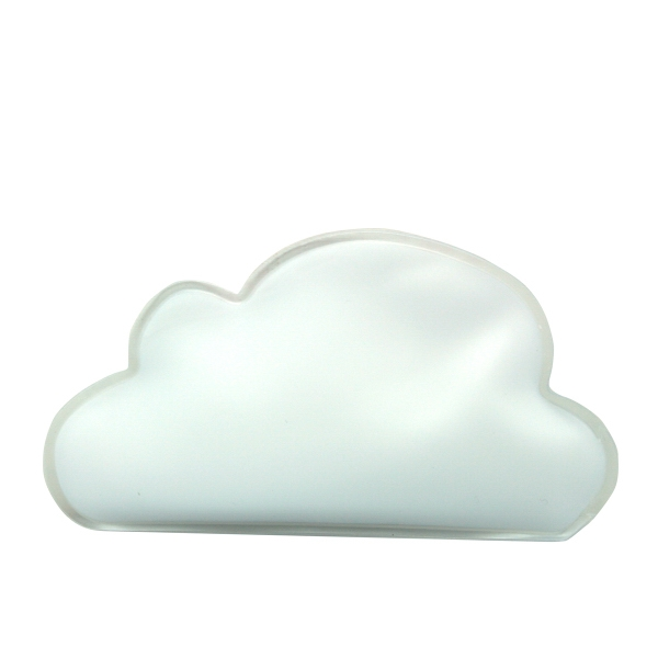 White - Cloud Shaped Chill Patch Filled With Cool Soothing Gel Photo
