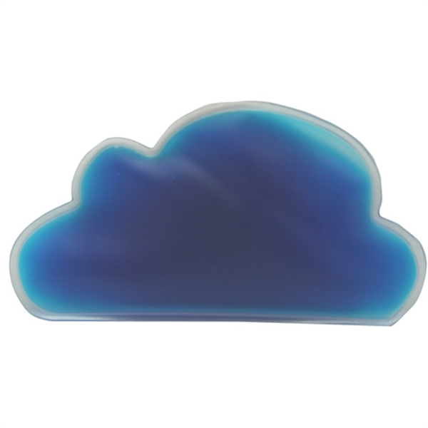 Blue - Cloud Shaped Chill Patch Filled With Cool Soothing Gel Photo