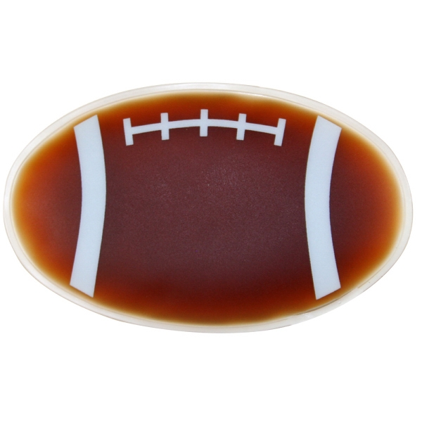 Football Shaped Chill Patch Filled With Cool Soothing Gel Photo