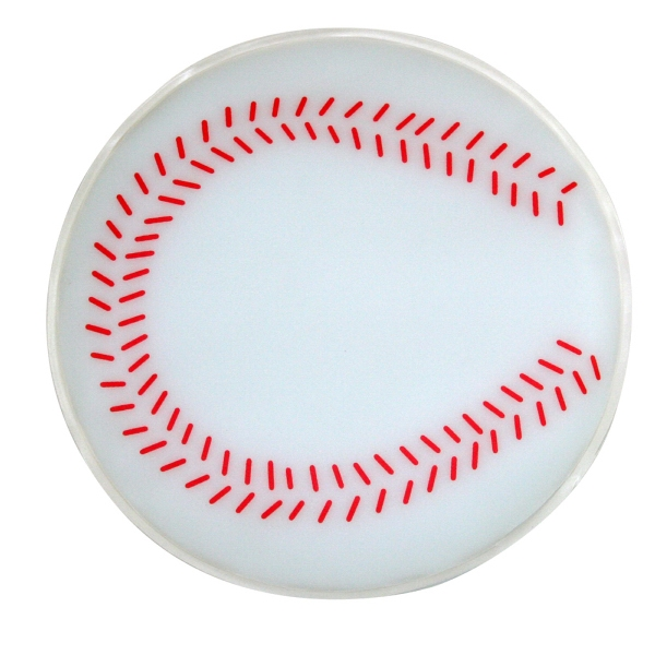 Baseball Shaped Chill Patch Filled With Cool Soothing Gel Photo