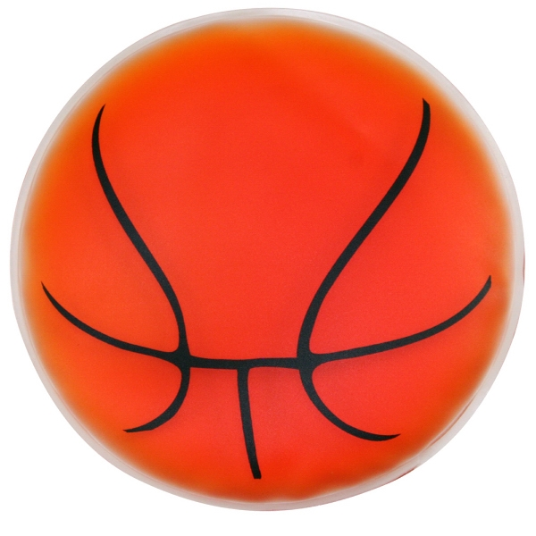 Basketball Shaped Chill Patch Filled With Cool Soothing Gel Photo
