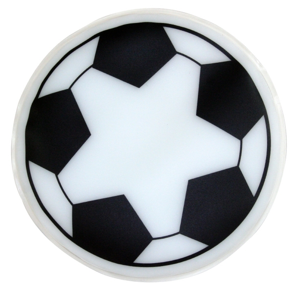 Soccer Ball Shaped Chill Patch Filled With Cool Soothing Gel Photo