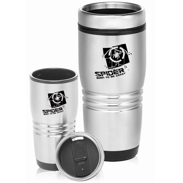 16 oz. Stainless Steel Personalized Coffee Tumbler