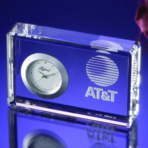 Award-Dbl Beveled Clock