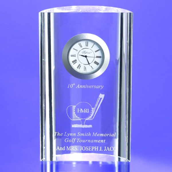 "Award-Mirage Clock 6"""