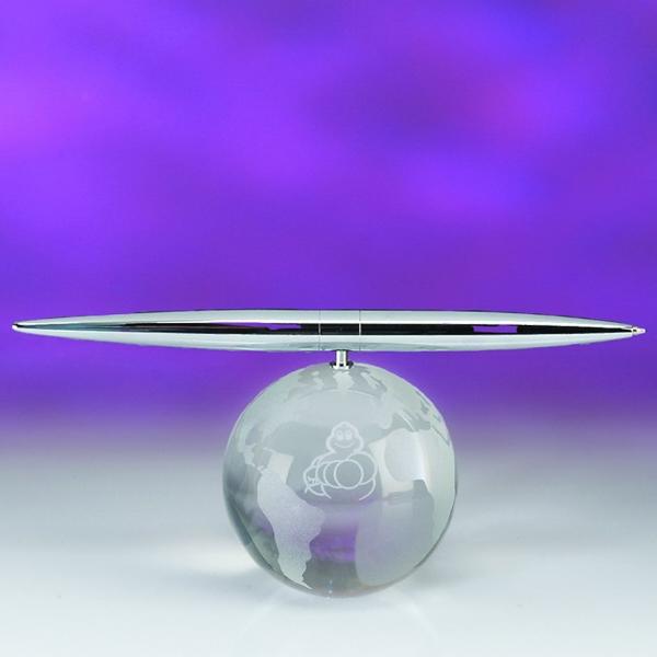 Award-Globe Spinning Pen Set