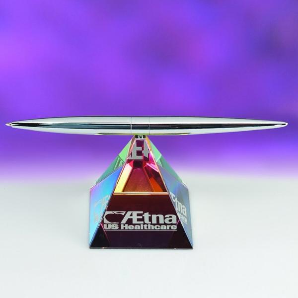 Award-Pyramid Spinning Pen Set