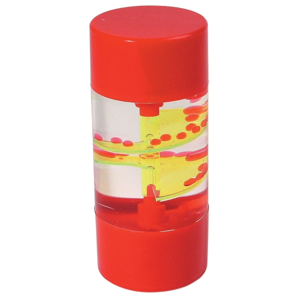 Red - Colored Liquid Motion Spiral Timer Photo
