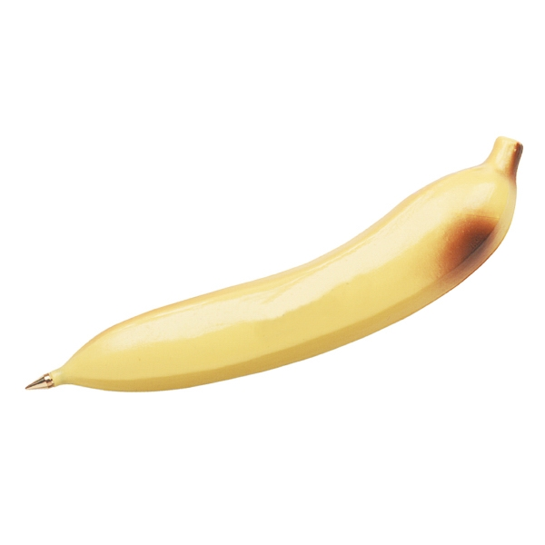 Ballpoint Banana Shaped Pen Photo