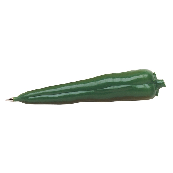 Ballpoint Green Pepper Shaped Pen Photo